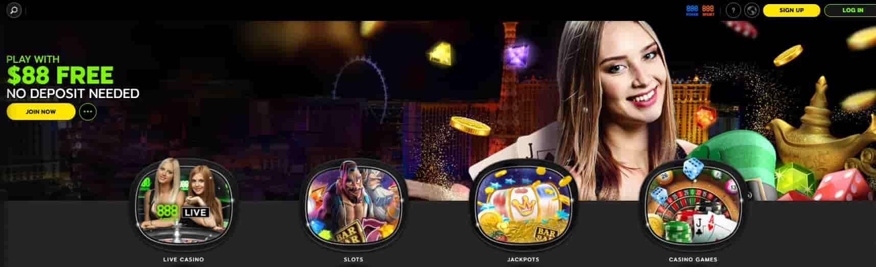 888 Casino Canada Review For 2021 Ca 88 No Deposit Bonus
