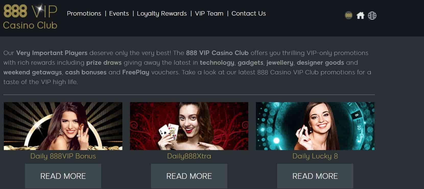 casino 888 vip promotion
