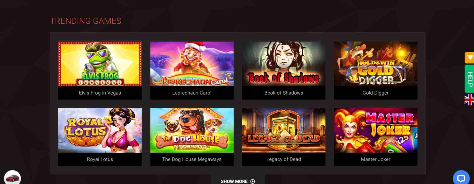 bitstarz casino slot games