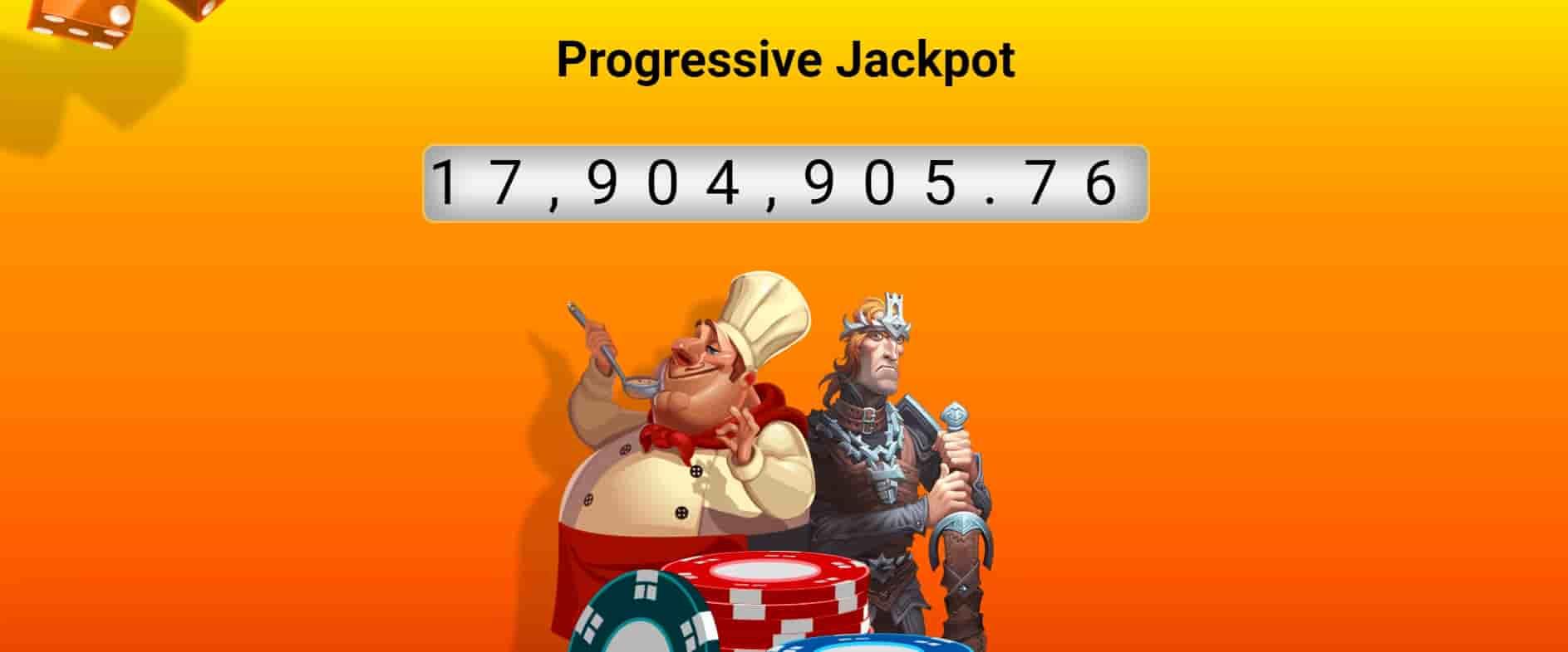 Gaming Club progressive jackpot