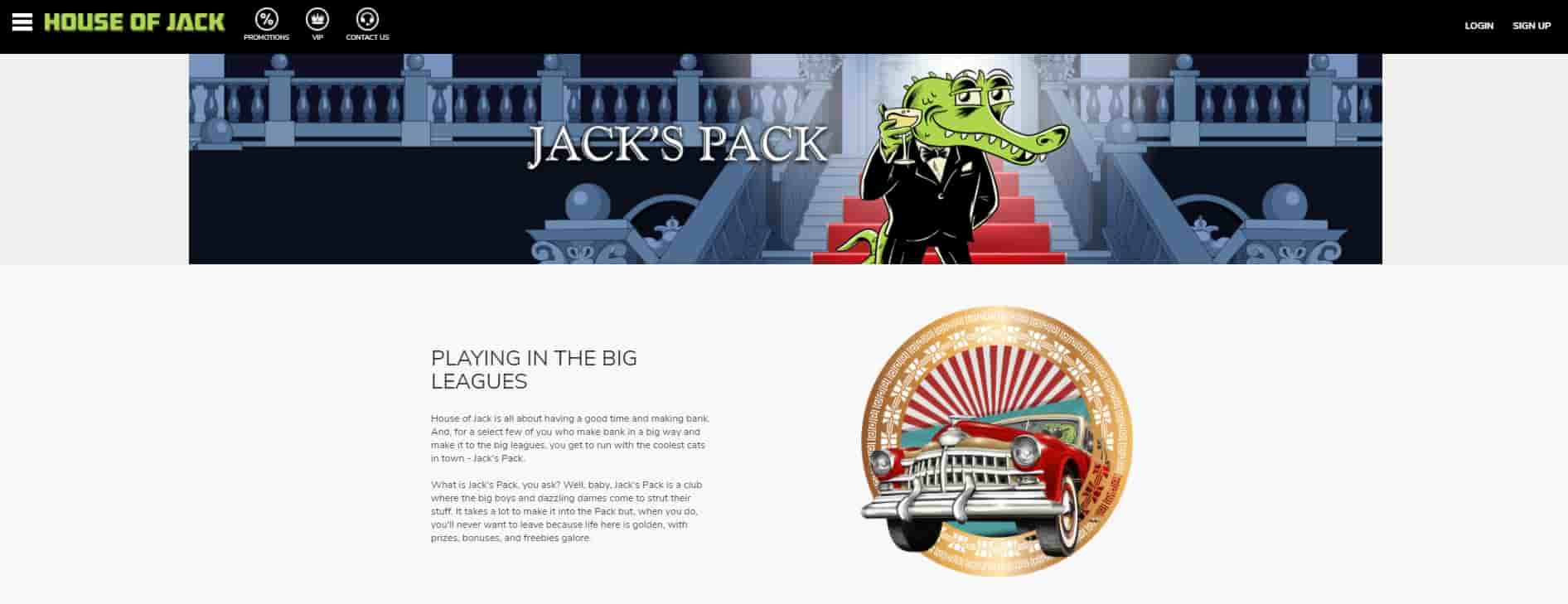 House of Jack VIP Program