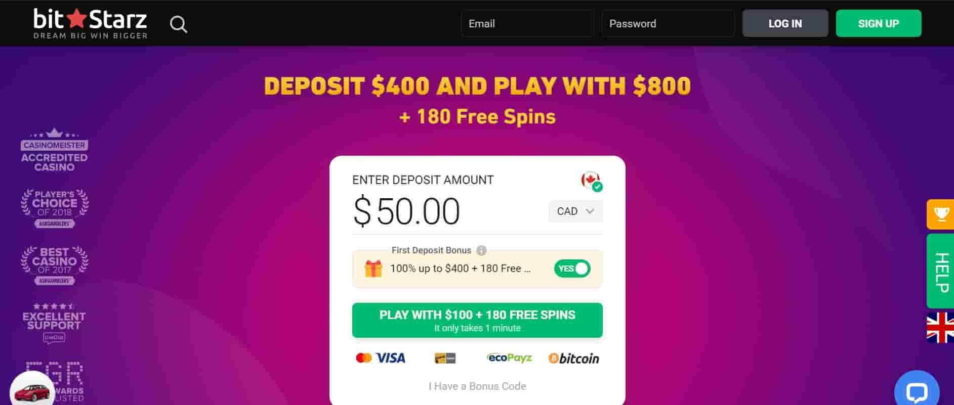 bitstarz casino online canada