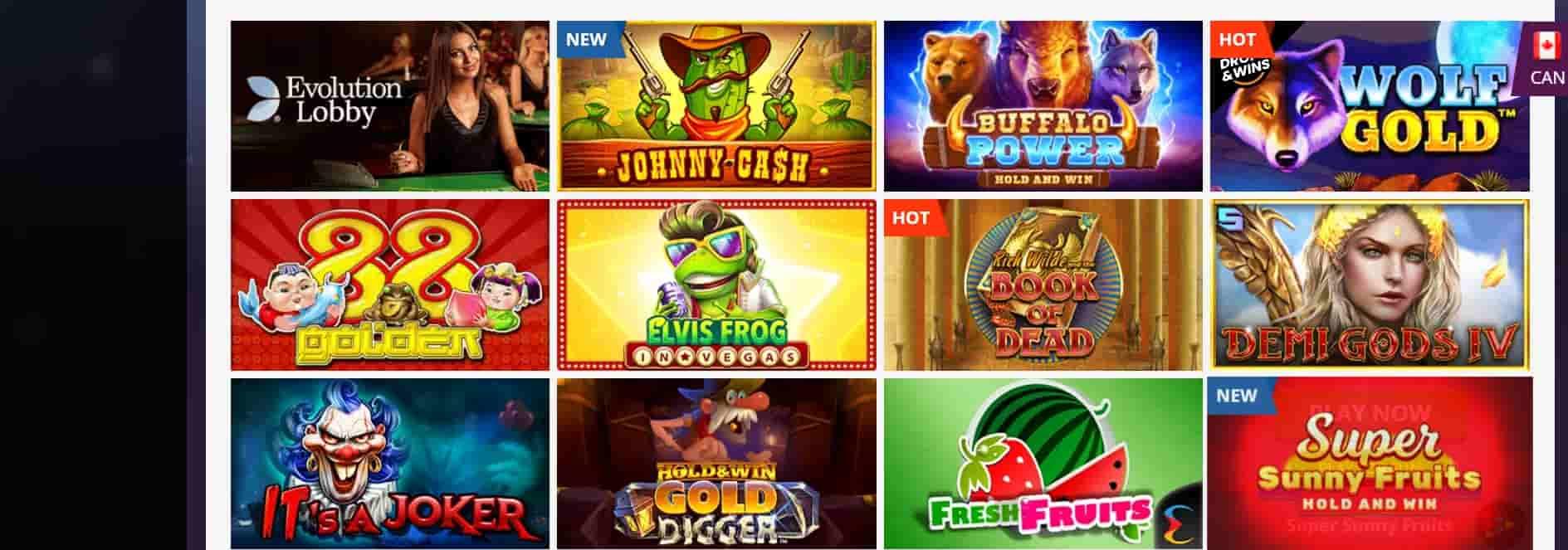 casino playamo best slots