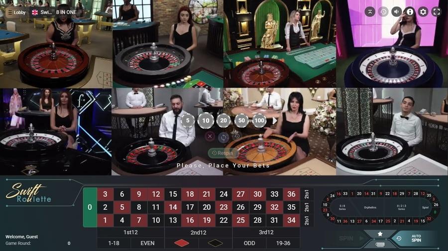 8 reel online roulette