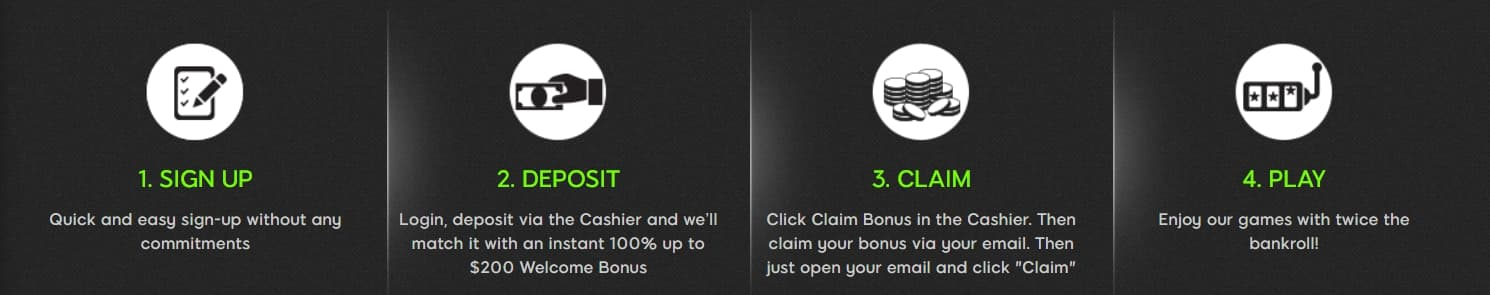 find welcome bonus rules at promotion page