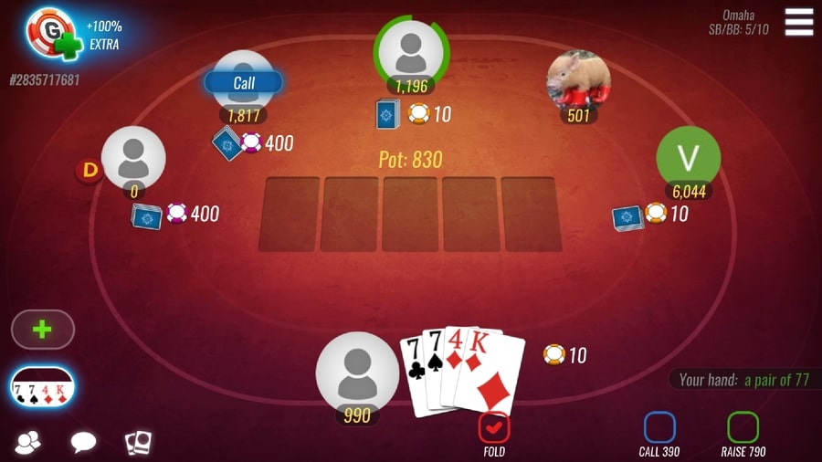 Poker Omaha online