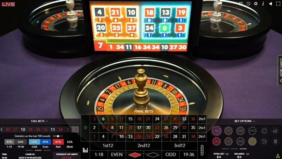 auto live roulette