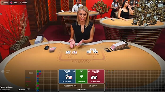 online baccarat site