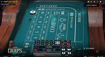 online casino with craps game