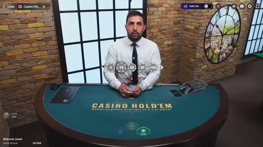 poker live dealers