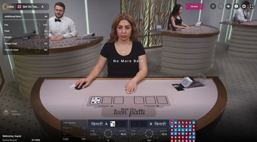 poker with live dealers