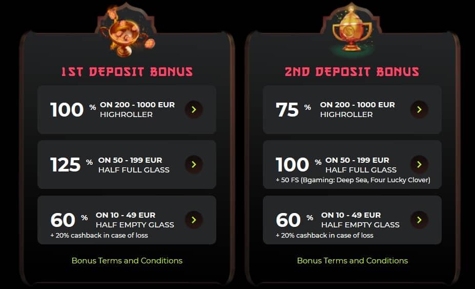 find bonus codes at the casino sites